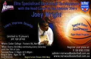 Joey Wright Clinics